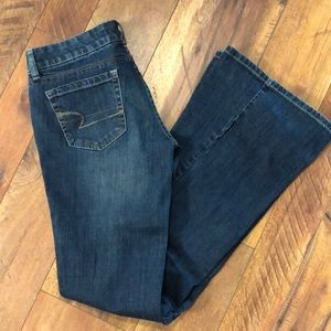 AE Real Flare Jeans.